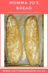 Recipe: Momma Jo's Bread