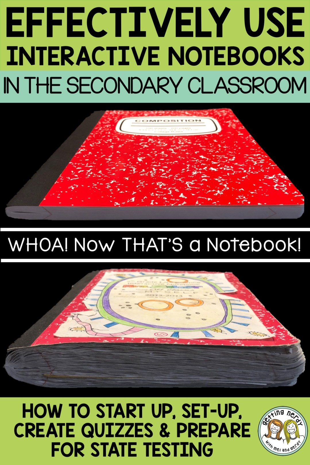 Teacher-tested tips for effectively using interactive notebooks in secondary science classrooms - Getting Nerdy Science