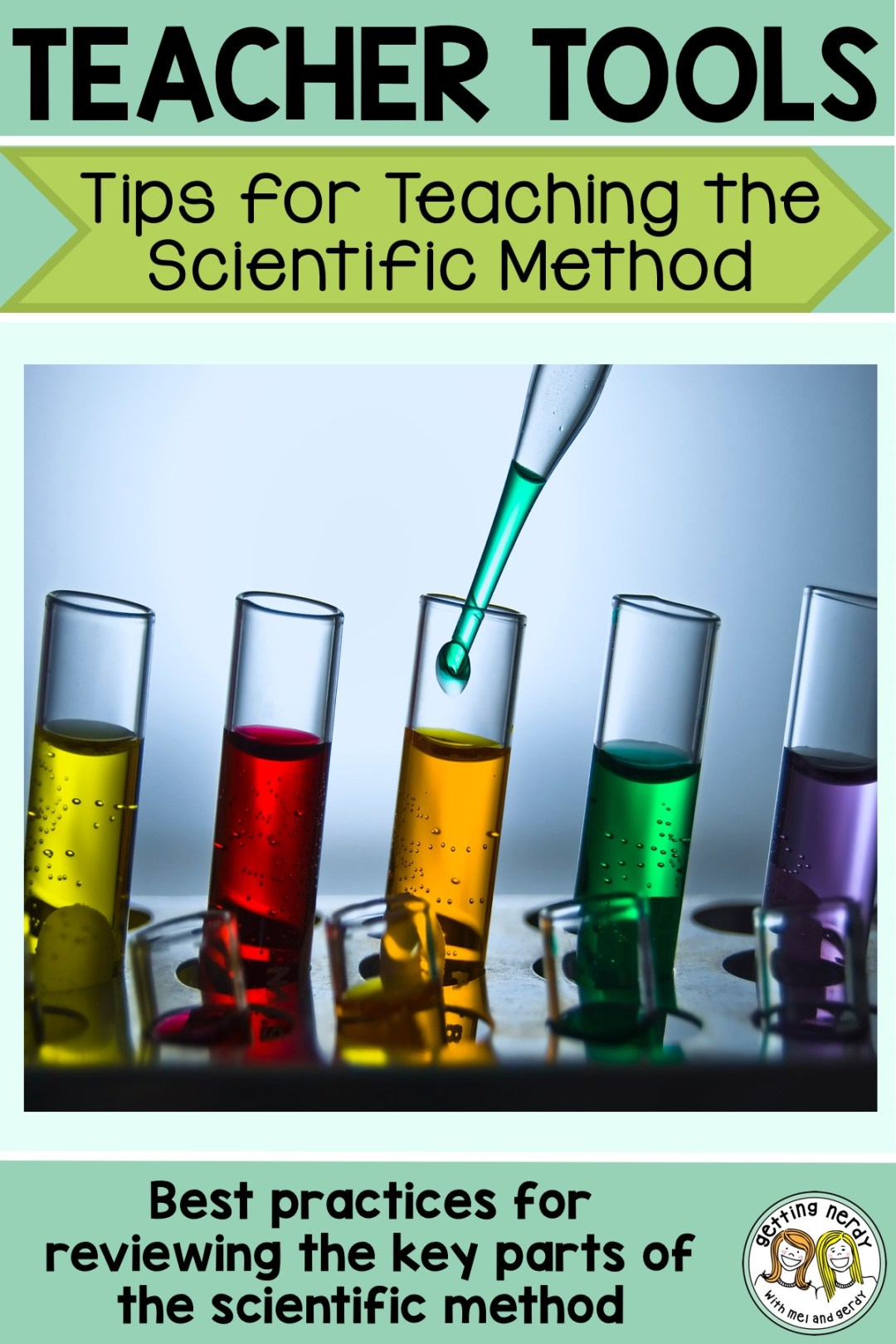 Here are some great tips for reviewing the scientific method any time of year and keep your students thinking about scientific inquiry every day of your class! #gettingnerdyscience #scientificmethod