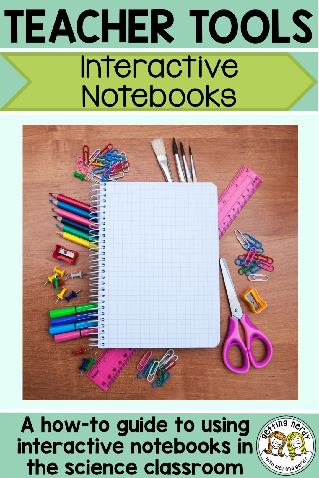 Read this beginner\'s guide to setting up successful Interactive Notebooks  for science - ISN, INB, whatever you call them - we\'ve got tips and tools for you! #gettingnerdyscience #INB #ISN #interactivenotebook