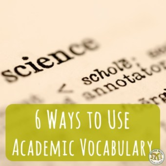 Teacher Tools: Tips for Incorporating Academic Vocabulary in the Classroom using Word Walls