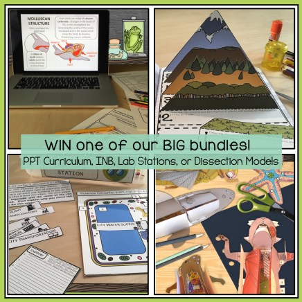 secondary science bundle giveaway #gettingnerdyscience
