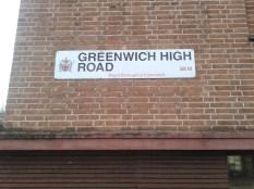 Greenwich sign
