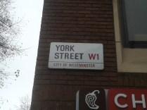 York Street - sign