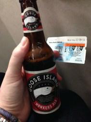 Metro North beer.