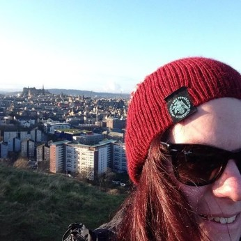 Christmas Day on Salisbury Crags
