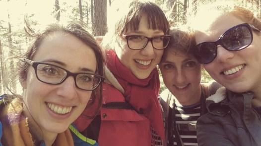 Fiona, Joanna, Cicely, and Glyka