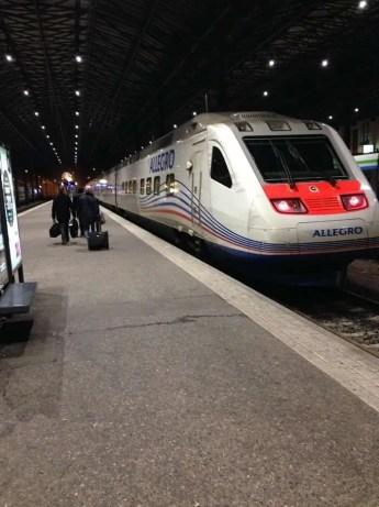 Train to Russia!