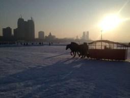 More low winter sun