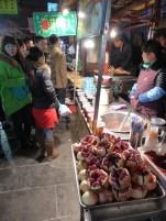 Street pomegranates!