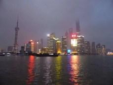 Shanghai in the mist
