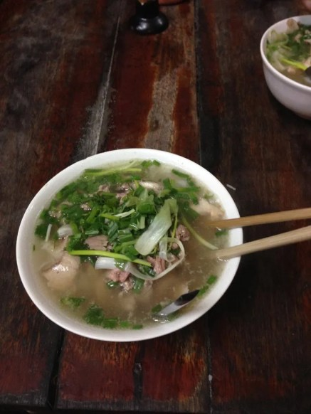 It may not look remarkable but that is some damn good pho.