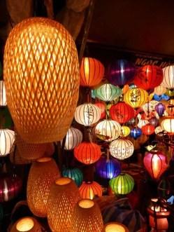 The famous lantern market