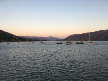 Boats in Ullapool
