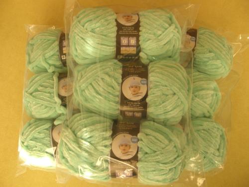 Nine Skeins of Velvet Spun yarn by Lion Brand!