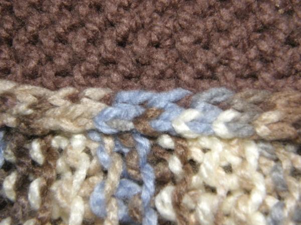 I-Cord Seaming close up~