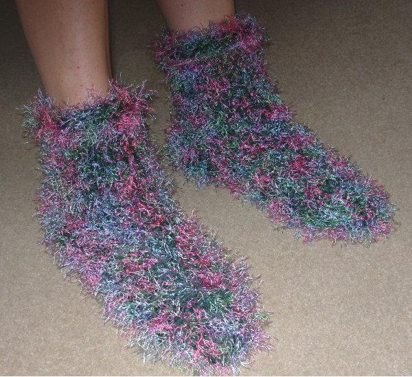 Chunky Slipper Socks by Marillyn