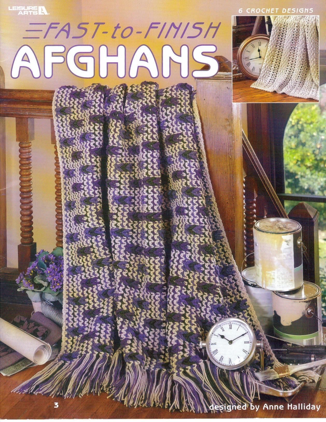 6 crochet designs~