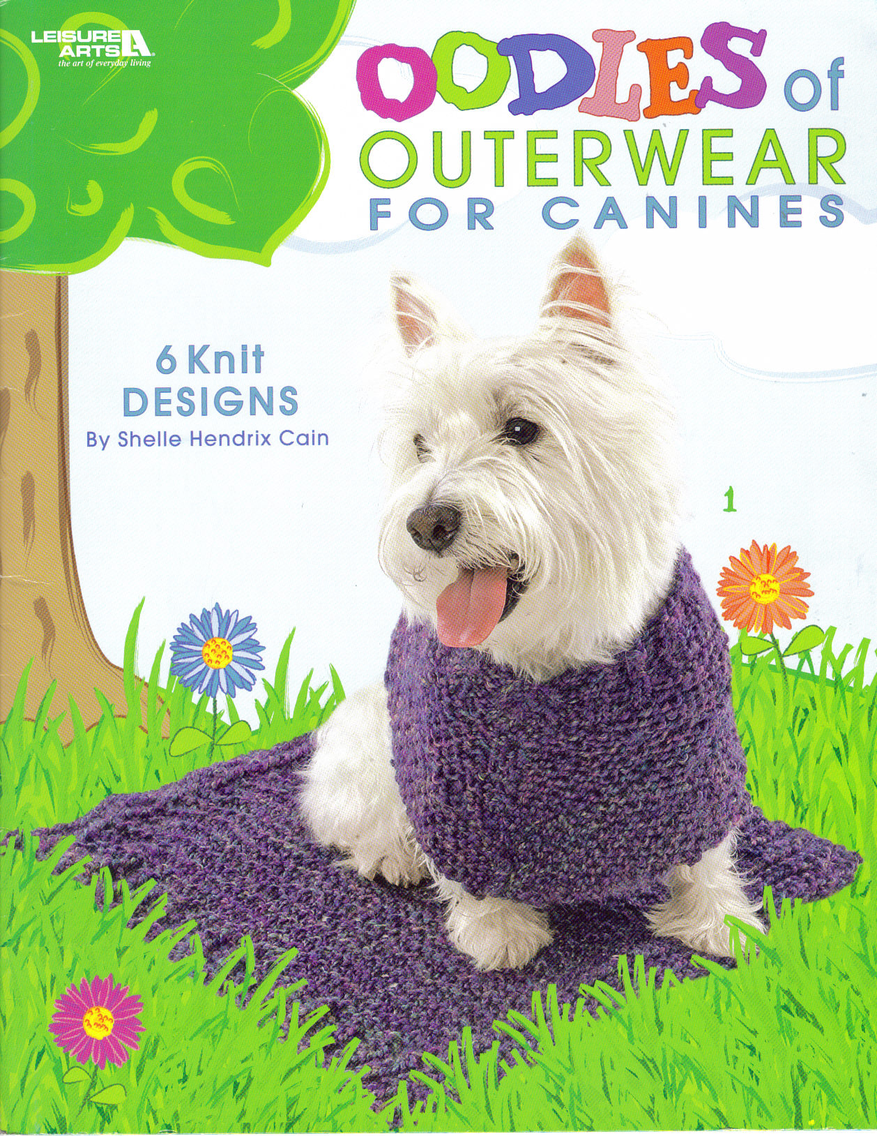 (6 knit designs included)