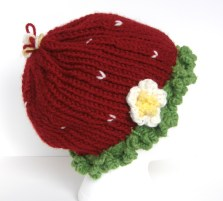 Bethany's vs. Strawberry Hat from the side