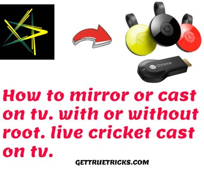 How to Mirror / Cast Hotstar on TV 2019 | hotstar live cricket casting