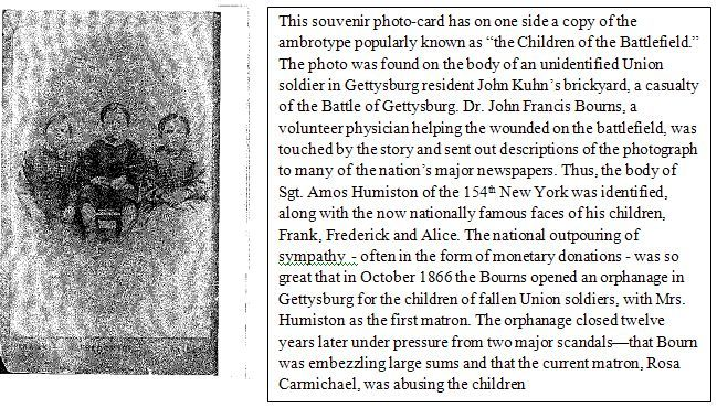 The Children of the Battlefield: The Picture that Identified