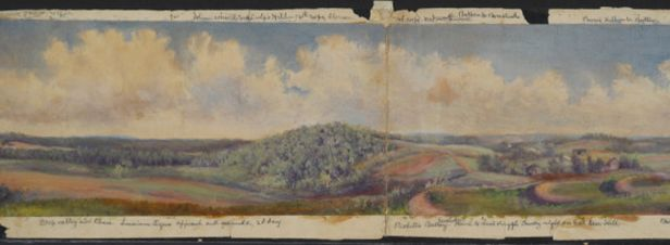 George Leo Frankenstein's View of East Cemetery Hill