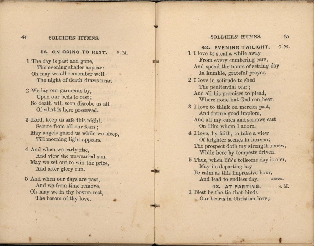 A Soldier's Hymn