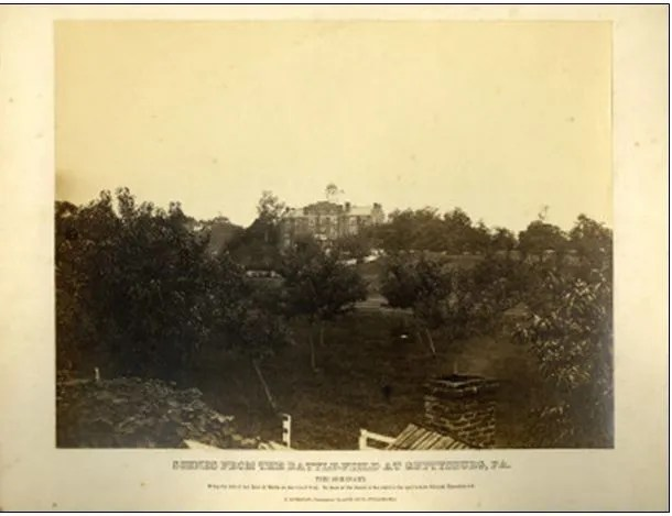 Frederick Gutekunst's View of the Seminary