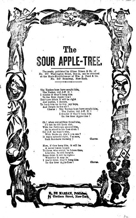 Sheet Music, Courtesy of Library Congress Photo Catalog