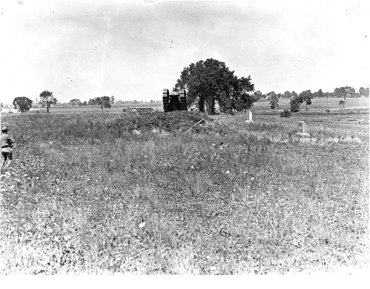 A Usable Past:  First World War Training Camps on Civil War Battlefields