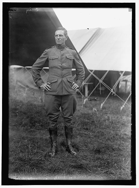 Dorey Halsted, Captain of 4th Infantry stationed at Camp Gettysburg in 1917. Library of Congress.