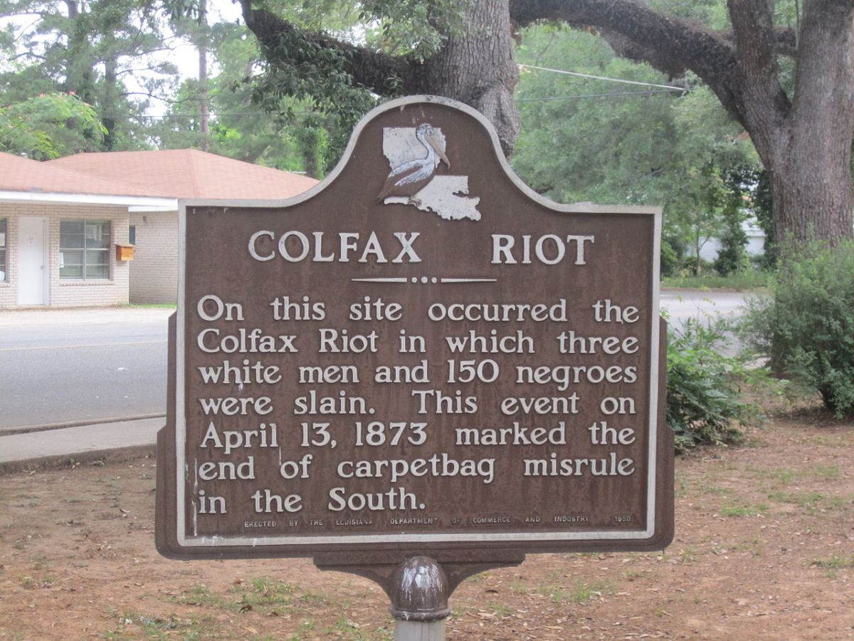 Tributes to Terror: The Mis-Monumentation of the Colfax Massacre
