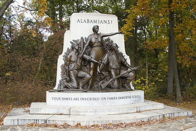 Making a Statement: The Alabama Memorial at Gettysburg