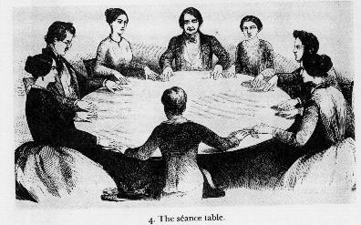 Victorian Séance circles to commune with the dead were popular expressions of Spiritualism. Photo Courtesy