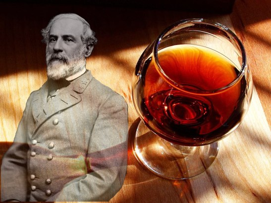Robert E. Lee as red wine. Photo credit to the author.