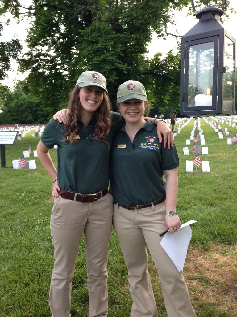 Find Your Park Friday:  Meg and Megan Take Fredericksburg and Spotsylvania NMP