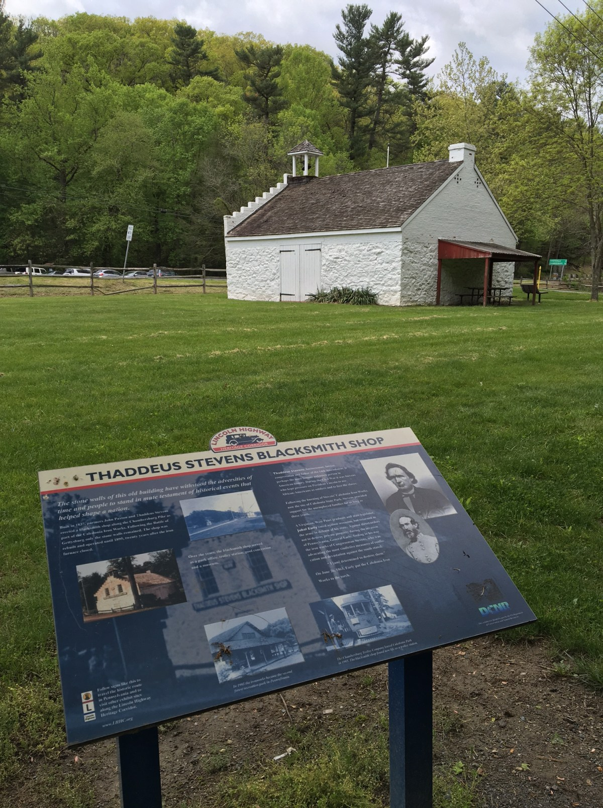 Beyond the Battlefield:  The Park That Once Was Stevens's Furnace