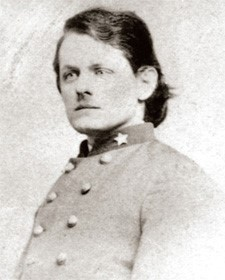 Henry Kyd Douglas was one of two Confederates to attend the first reunion of the Battle of Gettysburg. Photo credit: Civil War Trust