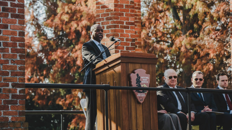 The Disquieted Heart and the Lighted Path: LeVar Burton's Dedication Day Speech