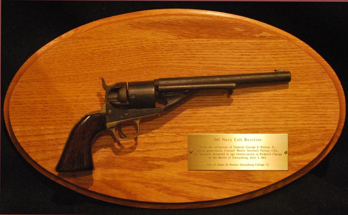 A Gun With a Story: Waller Patton's Civil War Pistol