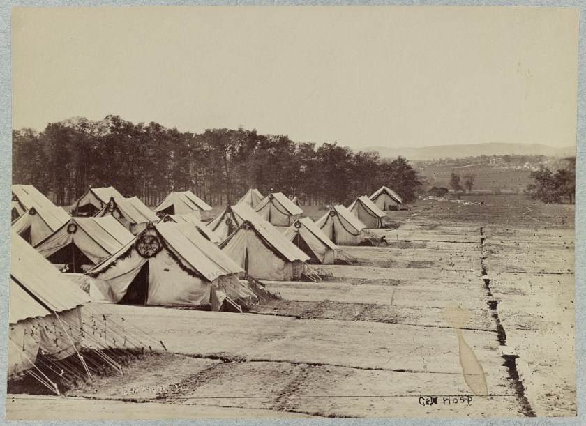 Tents at Camp Letterman
