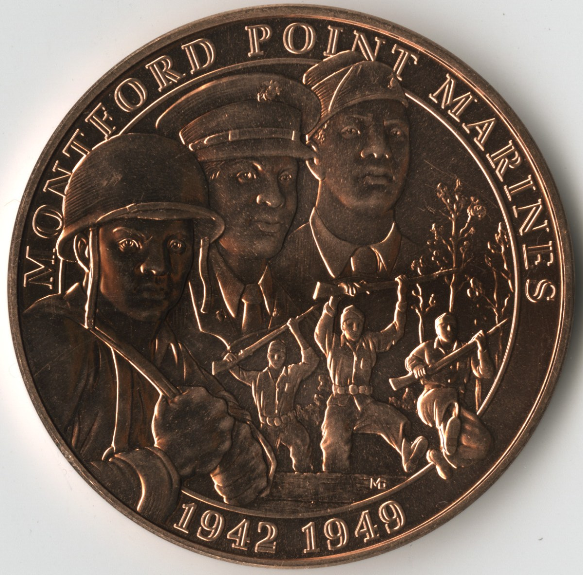 A Medal of Distinction:  Remembering the Montford Point Marines