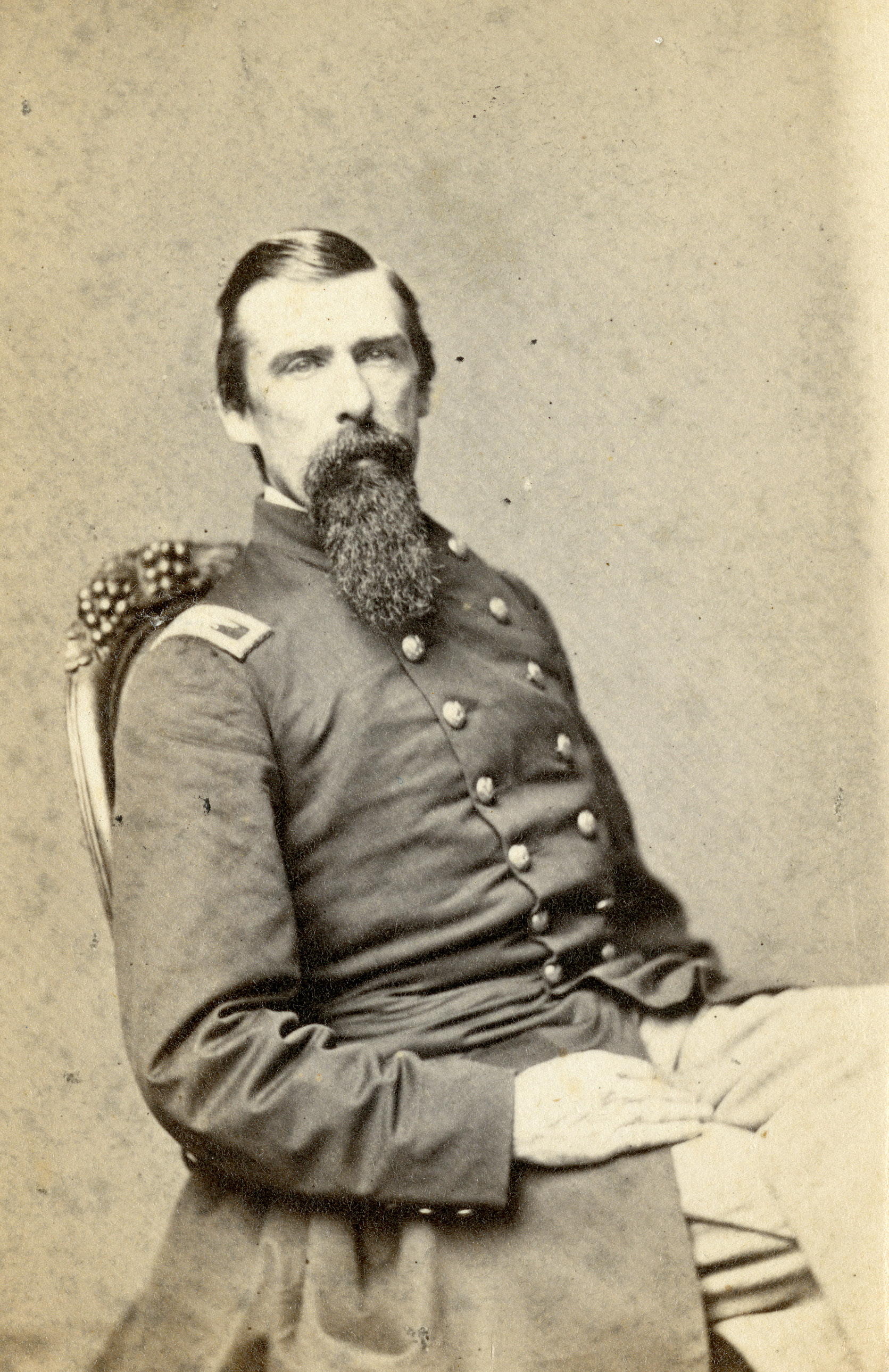 Carte De Visite Brigadier General Wild Was A USCT Commander Of Some Note Serving From First Bull Run The Major Battle Civil War
