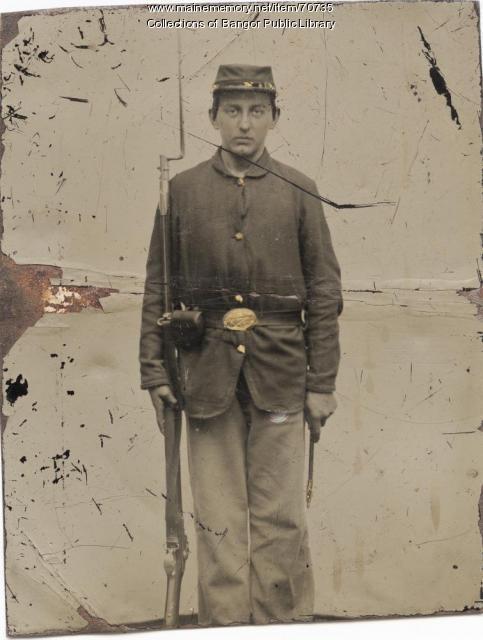 maine soldier