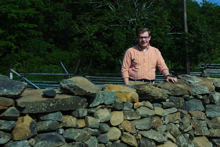 Aughinbaugh with Stone Wall
