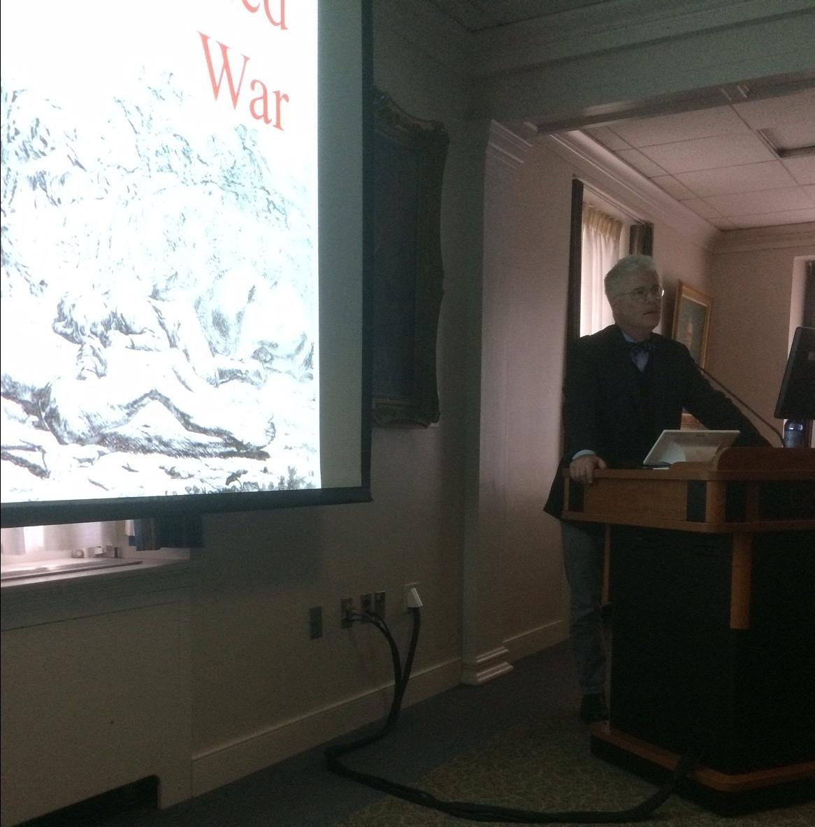 Understanding the True Nature of War: Dr. James Clifton's Lecture Mediated War