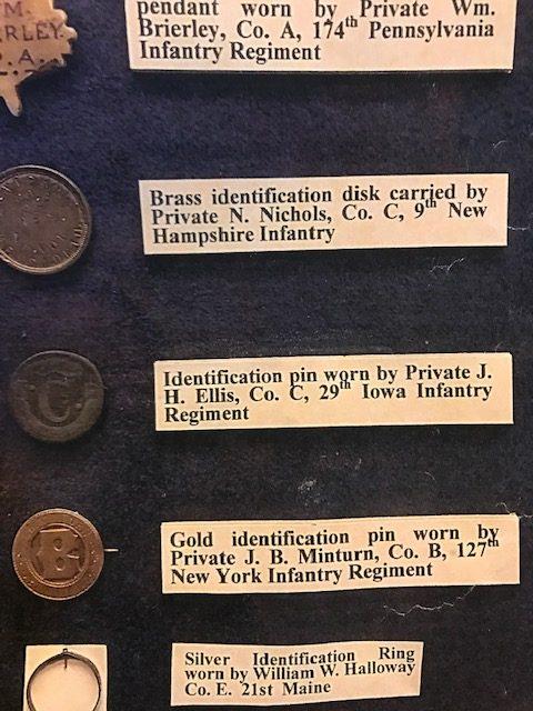 Private James B. Minturn, Co. B, 127th New York