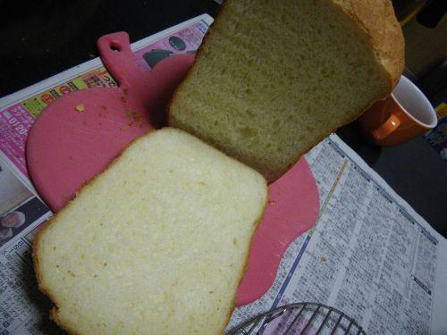 コーングリッツ入りパン