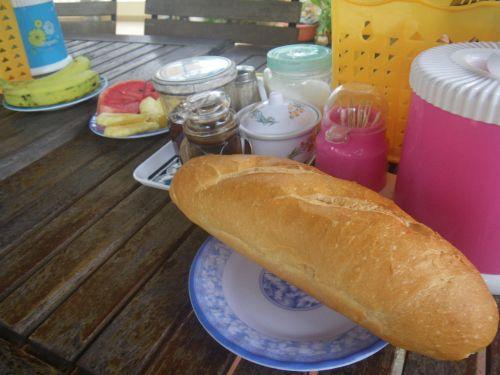 ゴックミンテラスの朝飯